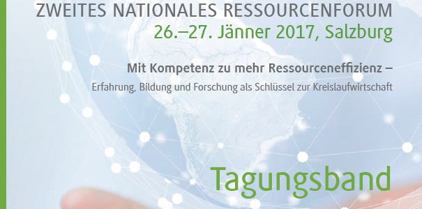 Zweites Nationales Ressourcenforum 2017 – Tagungsband jetzt online!