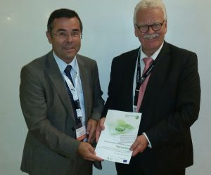 Nikolaus Lienbacher, Ressourcen Forum Austria und Xaver Edelmann, World Resource Forum (c) RFA